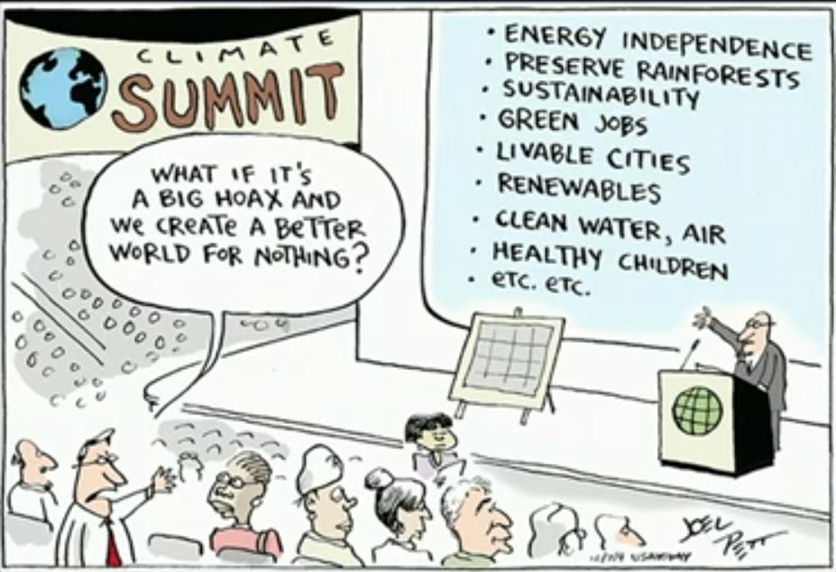 Climate change rebuttal